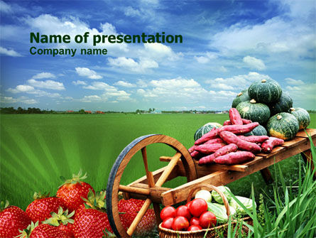 Harvest Festival PowerPoint Template, 00999, Agriculture — PoweredTemplate.com