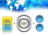 Touch The World PowerPoint Template#12