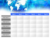 Touch The World PowerPoint Template#15