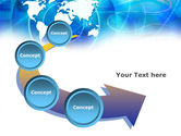 Touch The World PowerPoint Template#6