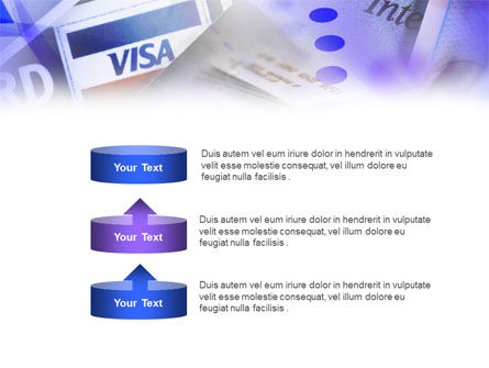Visa Card PowerPoint Template Slide 10