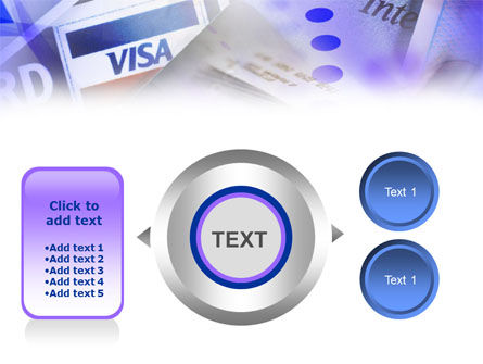 Visa Card PowerPoint Template Slide 12