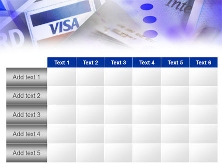 Visa Card PowerPoint Template Slide 15