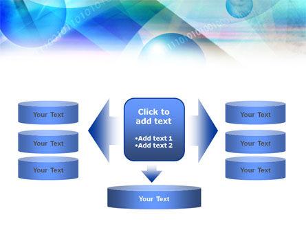 Free Binary Bubbles PowerPoint Template Slide 13