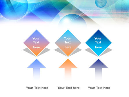 Free Binary Bubbles PowerPoint Template Slide 5