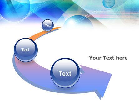 Free Binary Bubbles PowerPoint Template Slide 6