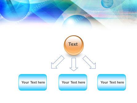Free Binary Bubbles PowerPoint Template Slide 8