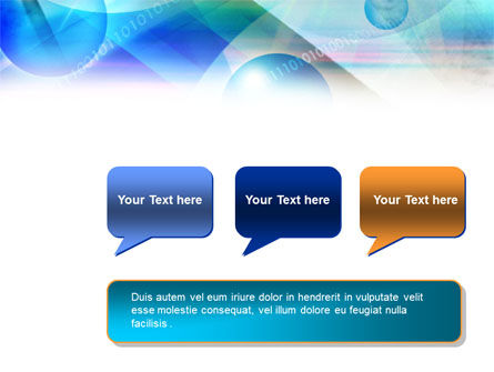 Free Binary Bubbles PowerPoint Template Slide 9