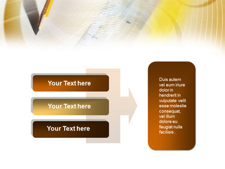 Ruler and Pencil Free PowerPoint Template Slide 11