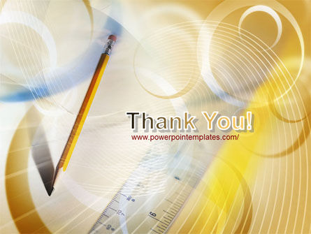 Free Ruler and Pencil PowerPoint Template Slide 20