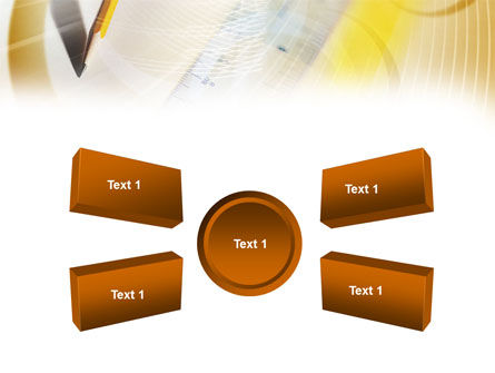 Free Ruler and Pencil PowerPoint Template Slide 6