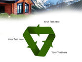 Mountain Cottage PowerPoint Template#10