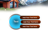 Mountain Cottage PowerPoint Template#12