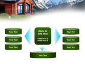 Mountain Cottage PowerPoint Template#13