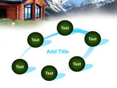 Mountain Cottage PowerPoint Template#14