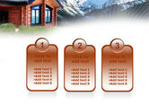Mountain Cottage PowerPoint Template#16