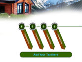 Mountain Cottage PowerPoint Template#18