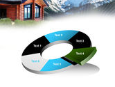 Mountain Cottage PowerPoint Template#19