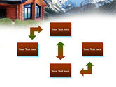 Mountain Cottage PowerPoint Template#4