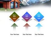 Mountain Cottage PowerPoint Template#5