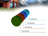 Mountain Cottage PowerPoint Template#7
