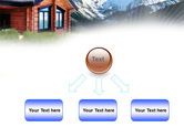 Mountain Cottage PowerPoint Template#8