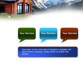 Mountain Cottage PowerPoint Template#9