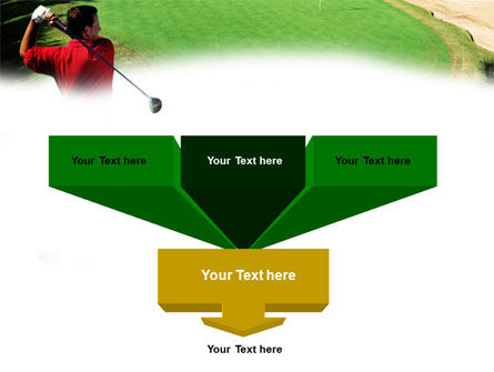 Golf Strike PowerPoint Template, Slide 3, 01011, Sports — PoweredTemplate.com
