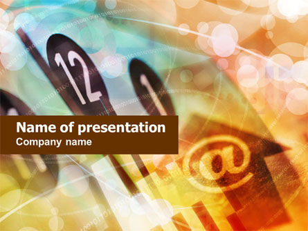 Business Concepts: Web Timeline PowerPoint Template #01017