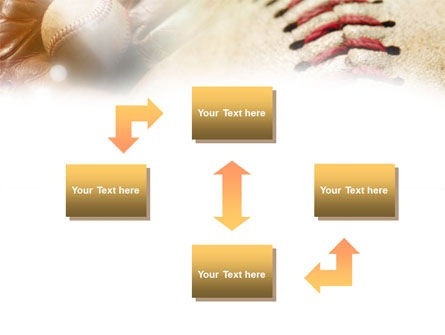Ball Stitching PowerPoint Template, Slide 4, 01019, Sports — PoweredTemplate.com