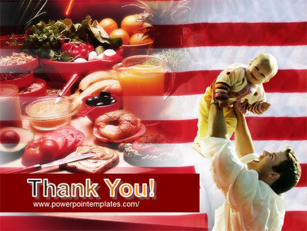 American Food PowerPoint Template Slide 20