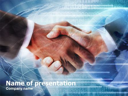 Business: Business Partnership PowerPoint Template #01021