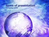 Abstract/Textures: Plantilla de PowerPoint - negocio web #01022