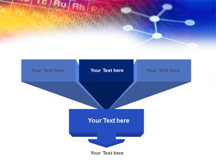 Chemical Compound PowerPoint Template, Slide 3, 01029, Technology and Science — PoweredTemplate.com