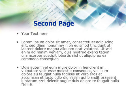 White Keyboard PowerPoint Template, Slide 2, 01035, Technology and Science — PoweredTemplate.com