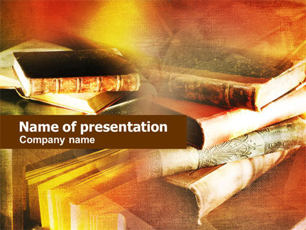 Ancient Books PowerPoint Template