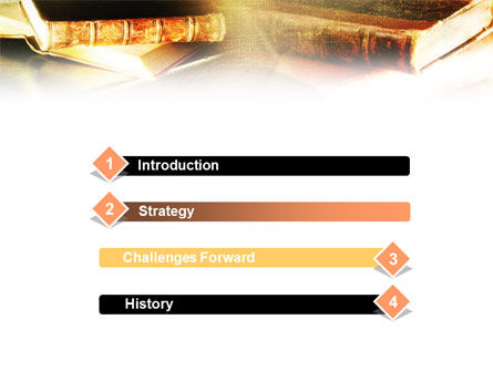 Ancient Books PowerPoint Template, Slide 3, 01037, Education & Training — PoweredTemplate.com