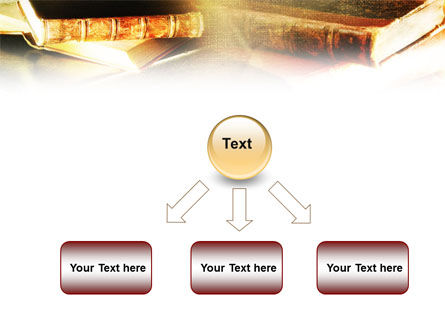Ancient Books PowerPoint Template Slide 8