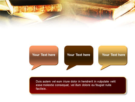 Ancient Books PowerPoint Template Slide 9