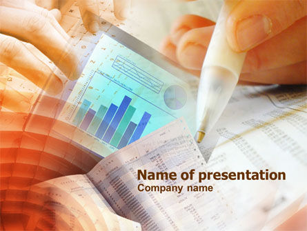Personal Accounting PowerPoint Template, 01039, Consulting — PoweredTemplate.com