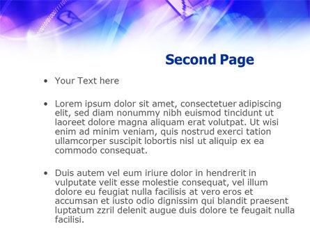 Enter Sign PowerPoint Template, Slide 2, 01048, Telecommunication — PoweredTemplate.com