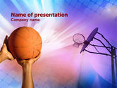 Sports: Play Basketball PowerPoint Template #01049