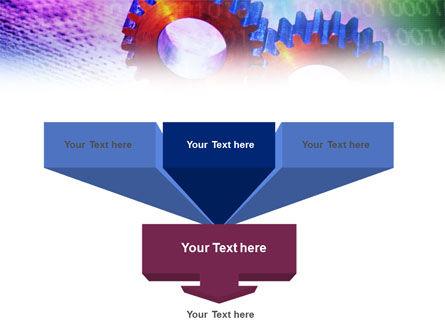 IT Technology Gears PowerPoint Template, Slide 3, 01050, Utilities/Industrial — PoweredTemplate.com
