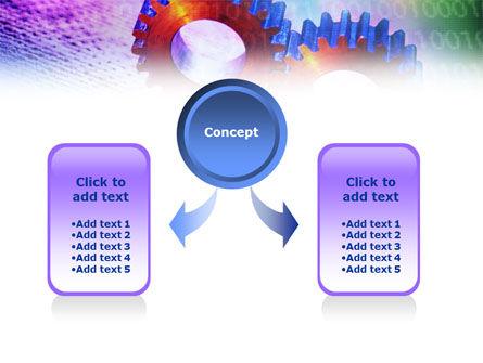 IT Technology Gears PowerPoint Template, Slide 4, 01050, Utilities/Industrial — PoweredTemplate.com