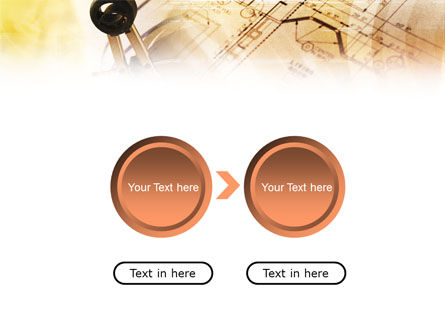 Pair of Compasses PowerPoint Template Slide 5