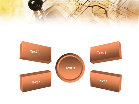 Pair of Compasses PowerPoint Template Slide 6