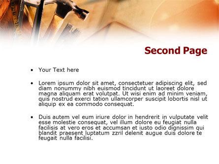 Repair Tools PowerPoint Template, Slide 2, 01055, Utilities/Industrial — PoweredTemplate.com