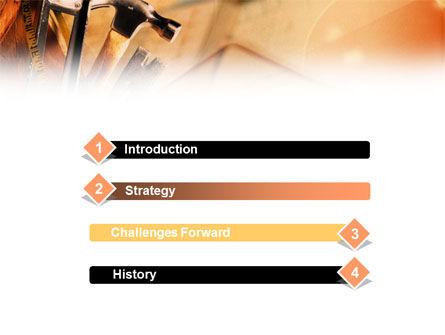 Repair Tools PowerPoint Template, Slide 3, 01055, Utilities/Industrial — PoweredTemplate.com