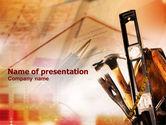 Utilities/Industrial: Repair Tools PowerPoint Template #01055