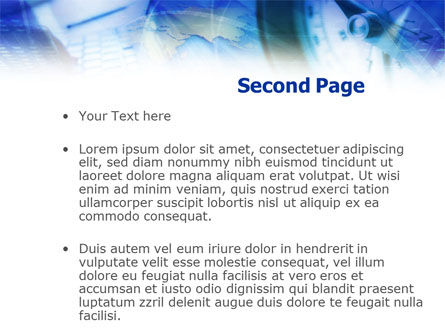 Web Technology Tendencies PowerPoint Template, Slide 2, 01057, Business Concepts — PoweredTemplate.com
